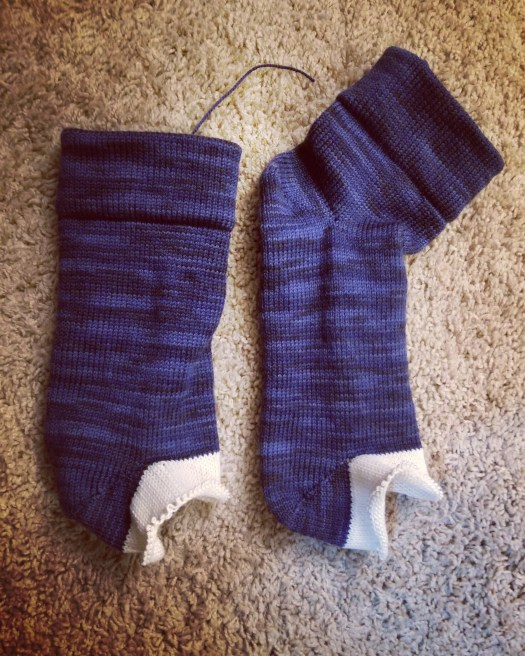 forgot to knit the heel