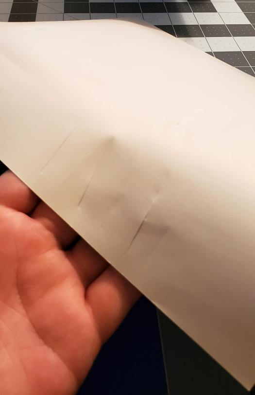 the cricut can cut through painter's tape sheets