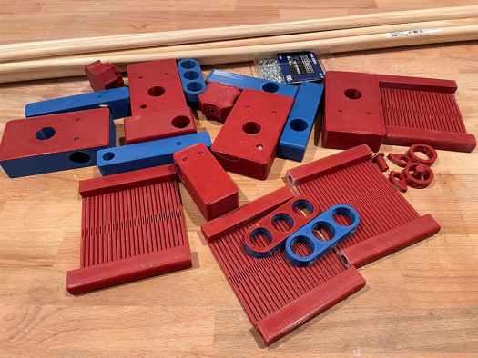 3d printed rigid heddle loom parts