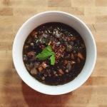 Nonna's Lentil Soup w/ a twist