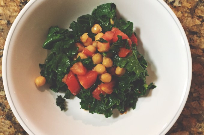 Spicy Greens + Beans