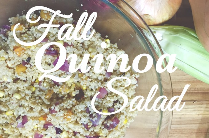 Fall Quinoa Salad