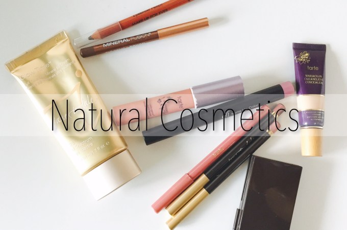 Products I love: Natural Cosmetics