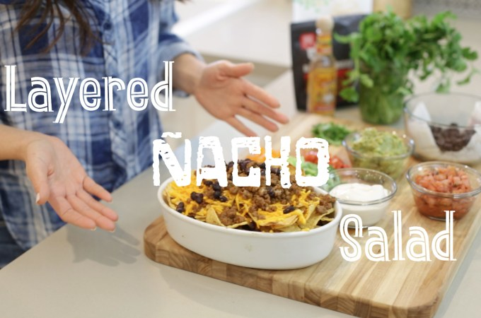 Layered Nacho Salad