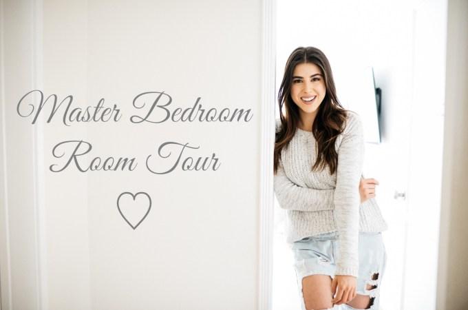 Master Bedroom Room Tour