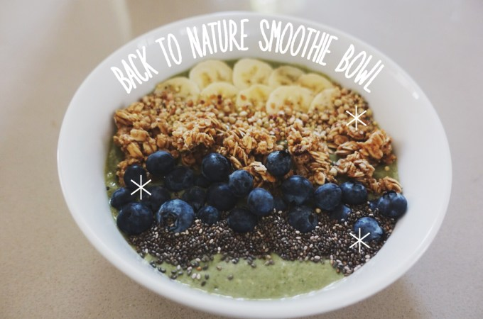 Back to Nature Smoothie Bowl