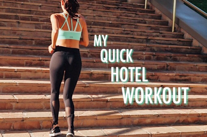 My Quick Hotel Workout
