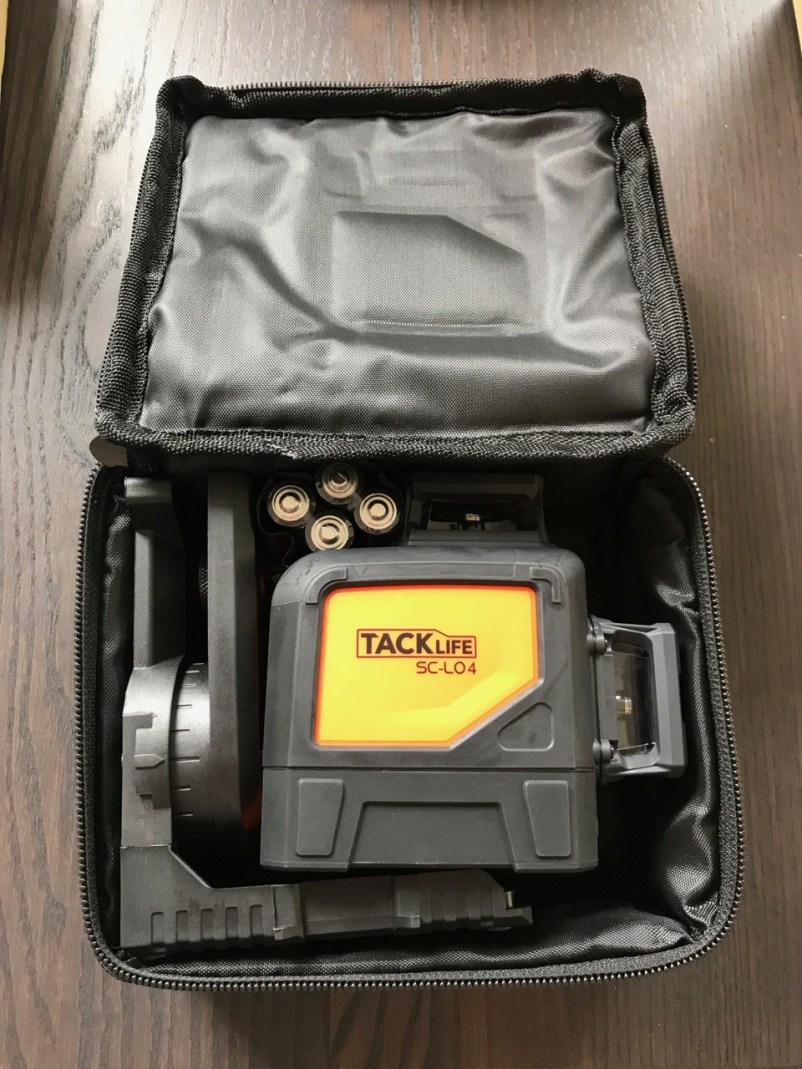 Tool Review: Rotationslaser TackLife SC -L04