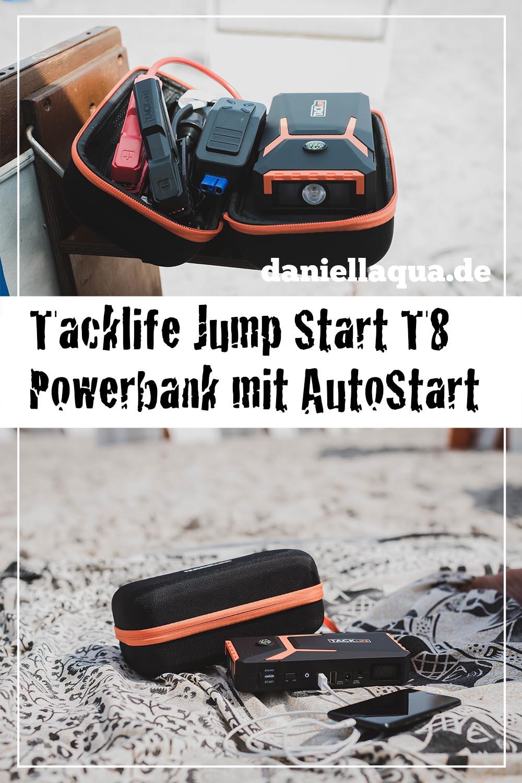 Tacklife Powerbank Jump Start T8 Pin