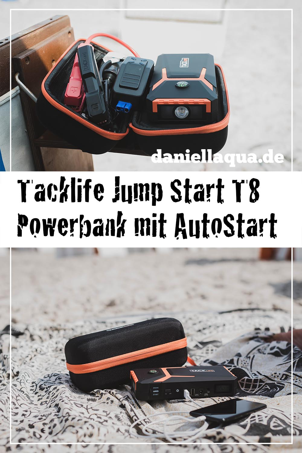 Tacklife Powerbank Jump Start T8 Pin