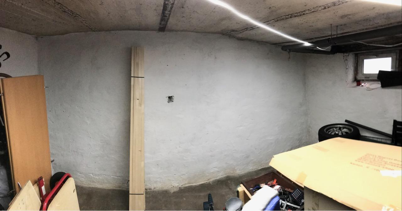 Den Keller zu einer Hobbywerkstatt ausbauen - Teil 1
