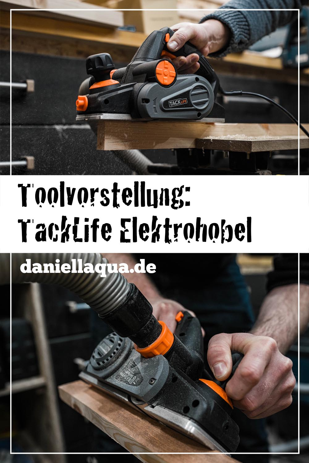 Tool Review: TackLife Elektrohobel EPN01A 710W