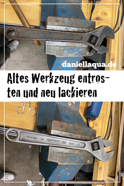 Werkzeug entrosten Pin 2