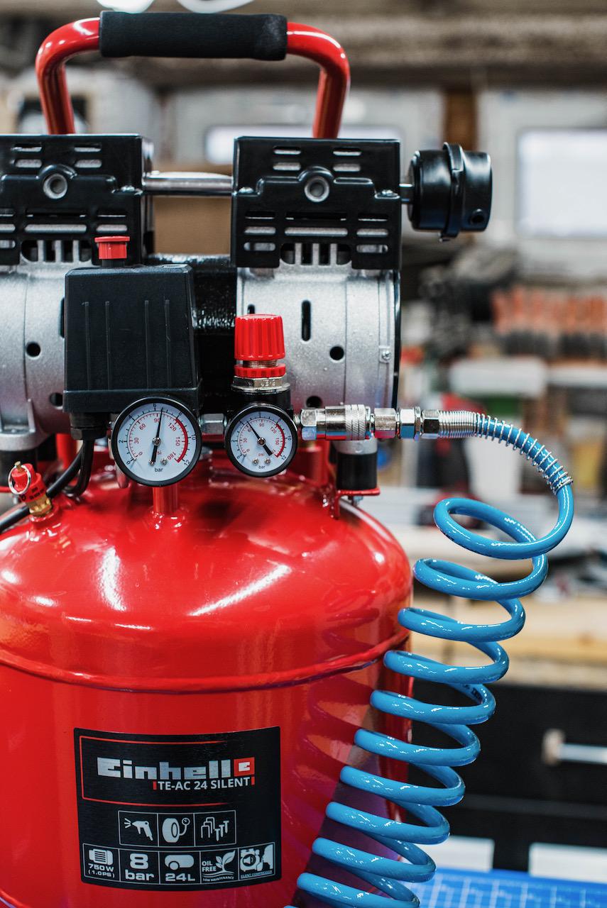 Tool Review: Einhell TE-AC 24 silent Kompressor