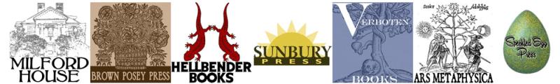 Sunbury Press Logo and imprint logos
