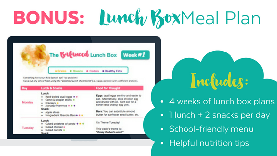 Lunch Box Meal Plan