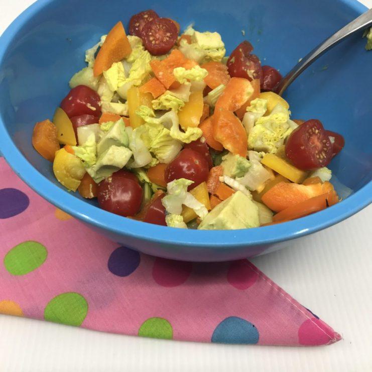 Kid-friendly salad (picky eater friendly salad)