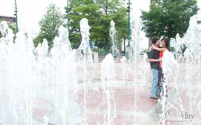 centennial olympic park engagement photographer | sitze