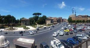 Temple of Hercules and Near the Teatro Marcello