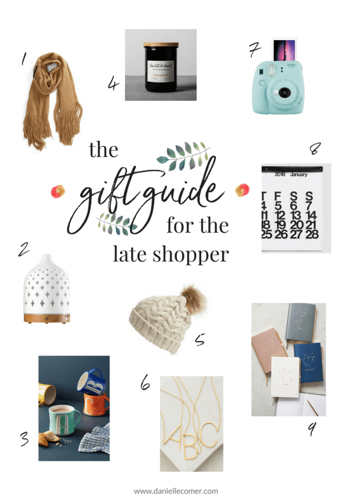 gift guide 2017 Christmas holiday