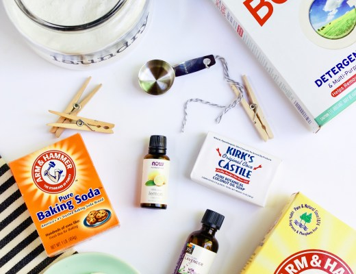 homemade laundry soap - Danielle Comer Blog square