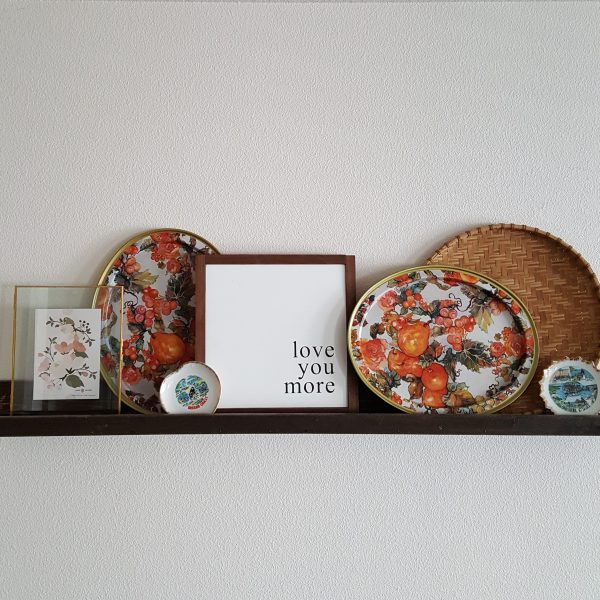 scandinavian floral tins-South by PNW Vintage