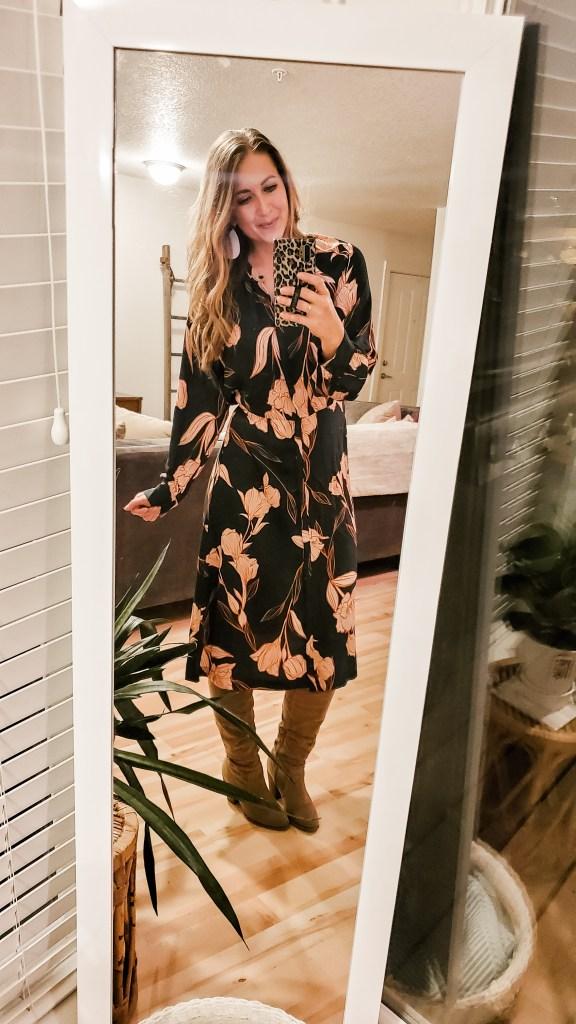 current target faves winter dress - danielle comer blog