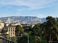 A view from Geneva's Old Town (in French called Vieille Ville)