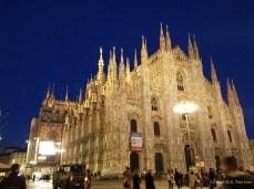Milan Duomo (Duomo di Milano) at night