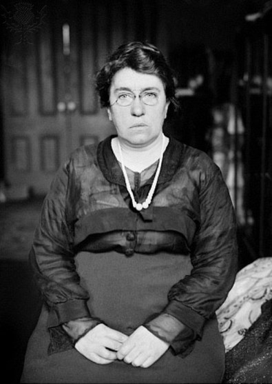 EMMA GOLDMAN (1869-1940). American (Lithuanian-born) anarchist. Photographed c1910.