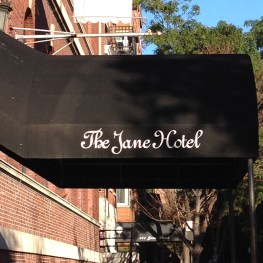 The Jane hotel on the Hudson river Manhattan