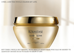 kerastase, deep conditioner, frugal