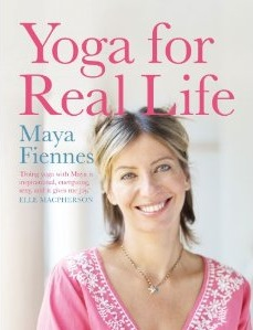 maya fiennes yoga for real life book cover