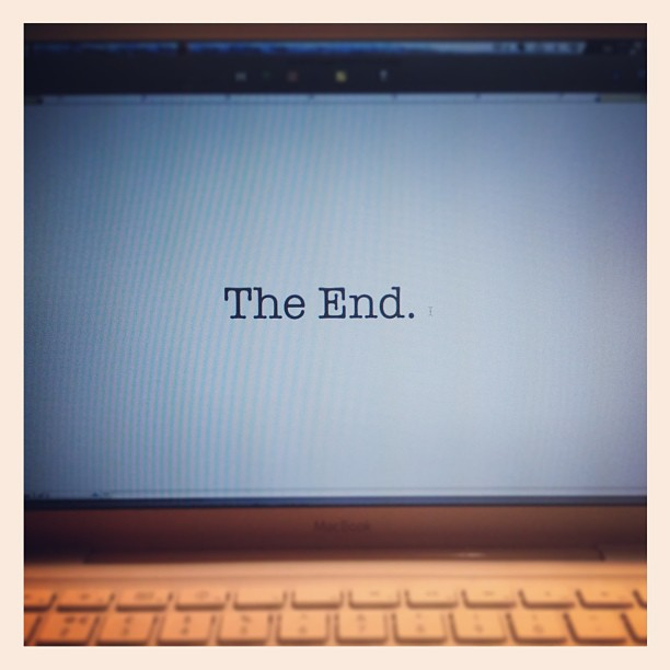 the end how to write a book