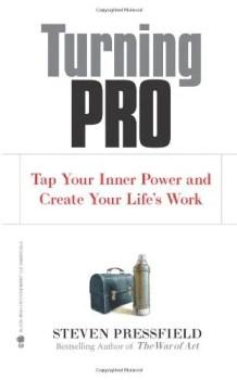 Steven Pressfield Turning Pro book