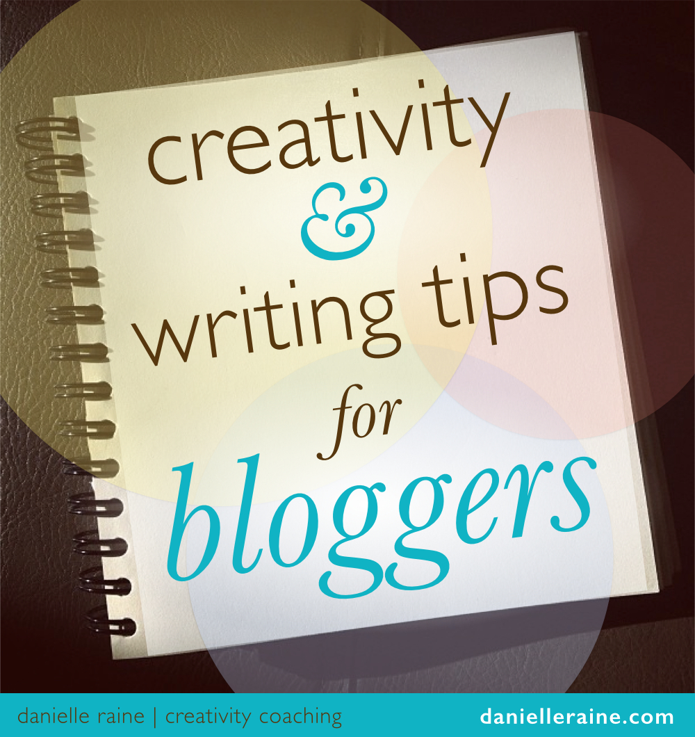 creativity writing tips for bloggers notepad
