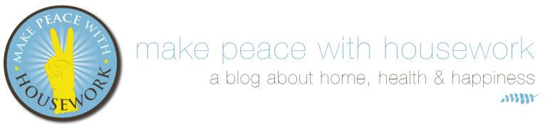make peace with housework blog logo