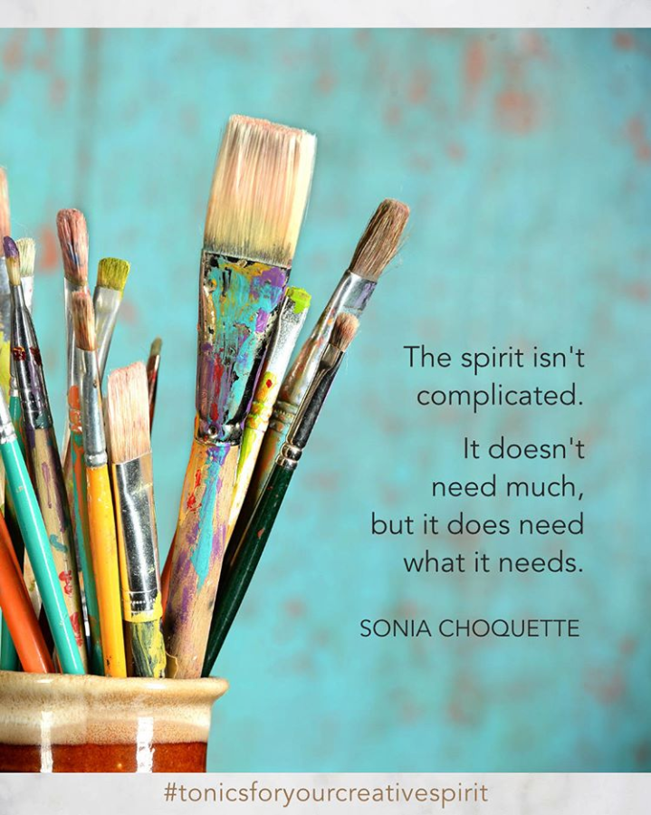 """""""Using our creativity is therapeutic, not because we need to be fixed, but because we need to be expressive.""""  Julia Cameron quote"""