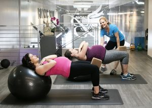 Pre Natal Fitness Instruction