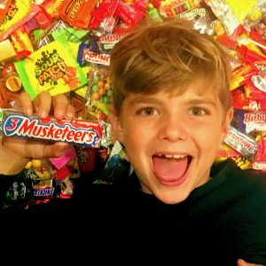 Candy Kid Halloween Love