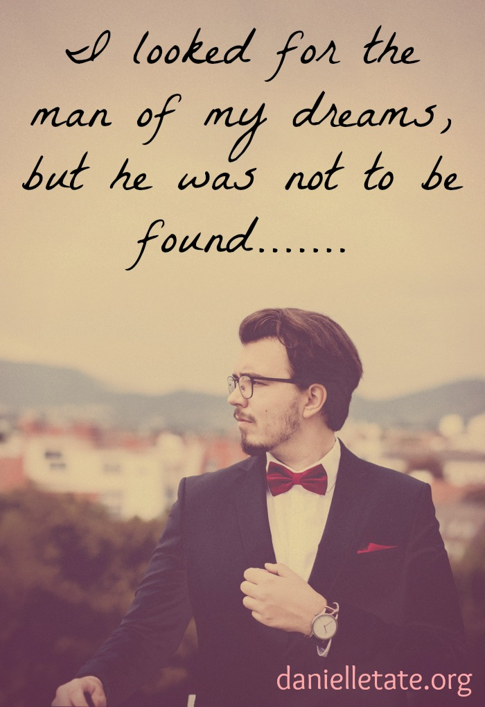 finding the man of my dreams
