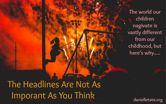 How important are the news headlines in our view of the world?