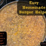 Homemade Burger Helper (With Venison or Beef)