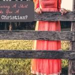 skirt wearing Christian