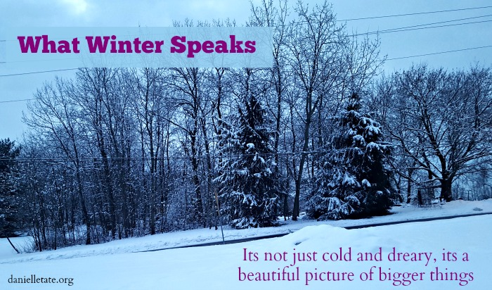 what winter speaks