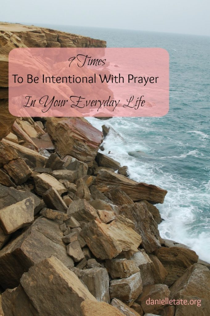 9 times for intentional prayer everyday