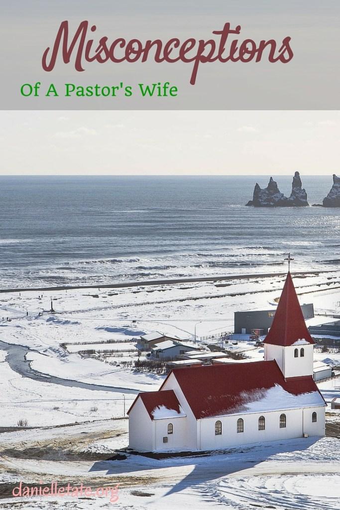 Misconceptions pastors wife