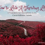 How to Live a Thriving Life