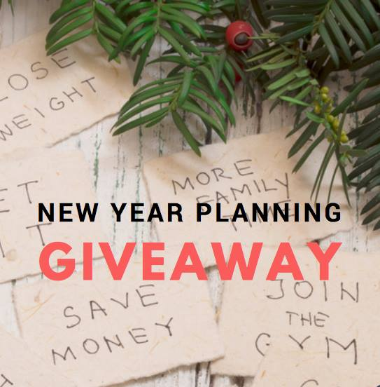 New Year Planning Giveaway