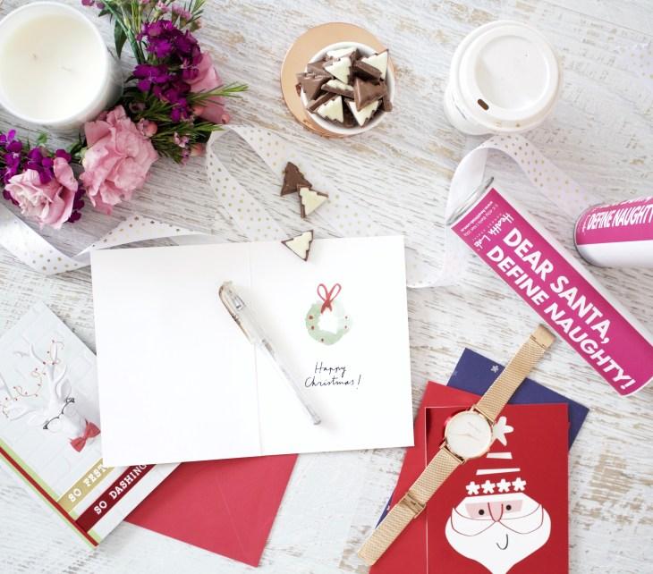 write a christmas card hallmark australian cadbury christmas chocolate melbourne lifestyle blogger flatly dear santa